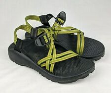 CHACO Women's Green ZX/1 Classic Vibram Sports Sandals with Adjustable Straps 9M