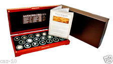 Ancient Silk Road, 20 Silver  Coin Collection in Beautiful Presentation Box