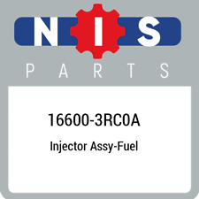 16600-3RC0A Nissan Injector assy-fuel 166003RC0A, New Genuine OEM Part