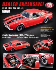 ACME A1805711 1:18 Dealer Exclusive 1967 Camaro 427 - Ltd 604 pcs!