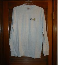 New Dixie Girls Long Sleeve T-Shirt Small Gray Cotton by Gildan