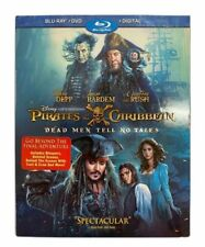 Pirates Of The Caribbean Dead Man Tell No Tales Blu-Ray + DVD + Digital Copy