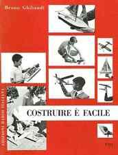 MODELLISMO AEREO Costruire è Facile 1957 Ghibaudi Ed. ERI - DVD