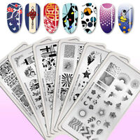 BORN PRETTY Nail Stamping Plates Chinese New Year Stamp Image Template
