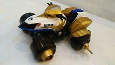 Bandai 2004 Power Rangers SPD delta Morph Moto Quad Or Blanc Véhicule Jouet