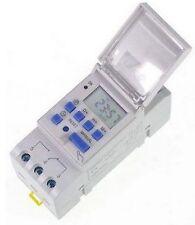 Interrupteur PROGRAMMATEUR HORAIRE DIGITAL 12V DC AC NUMERIQUE TIMER DIN  CL 09A