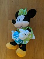 DISNEY  Exclusive Plush Spring Easter Minnie Mouse Holding Egg Pastel Dress