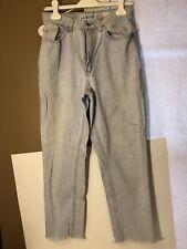 Vtg La Blues Women Jeans 10 Cl Savg Stains Distress Frayed