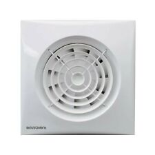 Envirovent SIL100T Silent 100mm Quiet Extractor Fan for Bathroom or Toilet