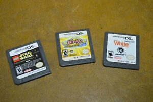 Kirby Super Star Ultra, Lego Star Wars, Shaun White Snowboarding DS lot of 3