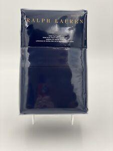 Ralph Lauren KING FLAT Sheet RL 624 Solid Sateen In POLO NAVY BRAND NEW