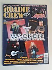 Wacken Roadie Crew Saxon Rage Anthrax In Flames brazilian music magazin