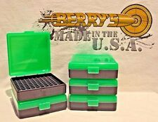 22 lr (5) Ammo Box / Case / Storage (100) Round .22LR, .25 ACP (ZOMBIE COLOR)