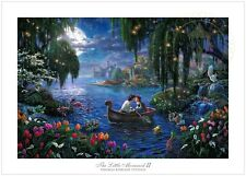 Thomas Kinkade Studios Disney Little Mermaid II 18x 27 S/N Limited Edition Paper
