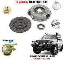 Pour Nissan Patrol Y61 rd28ti moteur 2.8 TD 2826cc 10/1997 -6 / 1999 Neuf Kit Embrayage