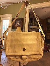 Designer Marc Jacobs 100% Genuine Leather Logo Shoulder-Bag /Messenger / Purse