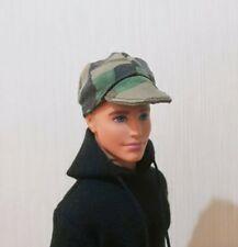 "Handmade doll cap camouflage hat for 1/6 dolls 12"" ken dolls"