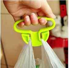 sturdy plastic shopping bag handbag hook hanger holder helper organizer