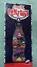 #VV4.  SET 18 AUSTRALIAN FOOTBALL COCA COLA 1998 BADGES WITH DISPLAY BOARD