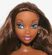 Barbie Doll My Scene Madison with Long Wavy Brown Hair & Big Blue Eyes