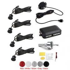 Black Buzzer Car Parking Sensor System Audible Alarm System with 4 Sensors