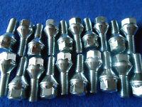 20 Radschrauben  M12 x1,50x 25 mm  Kegelbund 60° SW17