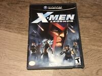 X-Men Legends Nintendo Gamecube Complete CIB Authentic