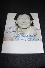ROMAN POLANSKI signed Autogramm auf 20x25,5 cm Bild InPerson RAR