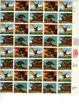Scott #2422/5.. 25 Cent...Dinosaurs.... Sheet of  40