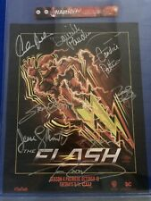 SDCC 2017 The Flash Signed Poster 15x12 With Wristband WB