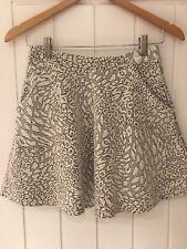 Topshop A Line Mini Skirt, 10