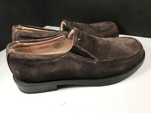 Cole Haan AIR ACE SLIP 2 Leather Casual Loafers Brown Sz 4-M