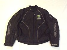Oneal Fred Andrews Monster Black/Green Motorcycle Jacket - XL