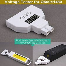 2in1 Battery Voltage Capacity Tester Monitor for Yuneec Q500/H480 Typhoon Drone