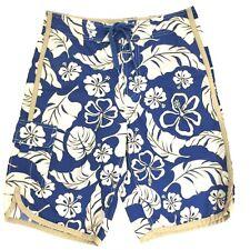 d5000018c7 GAP Young Men's Board Shorts Bathing Suit Trunks 28 Blue Khaki Beige
