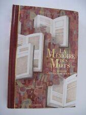 LA  MEMOIRE DES MOTS (16 dessins A. Garzon) P.DELAVEAU - Ed L.PARIENTE (DP-02 )
