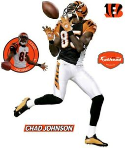NFL Fatheads Chad Johnson Vinyl Decals