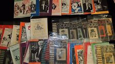 rare original; SPHINX & TOPS antique magic magazines (1940s & 50's)