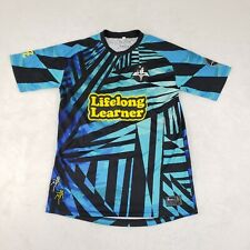 Portland Toffee League Soccer Club Jersey 420 Rare Avery Dennison Print Blue M