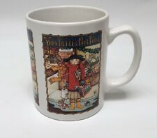Mary Engelbreit You You'd Better Not Pout Christmas Coffee Mug 10 Oz