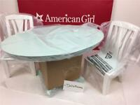 New American Girl Dining Table & Chairs~Wood Furniture~Tenney~Isabelle~Grace~Kit