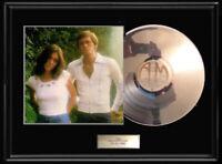 THE CARPENTERS HORIZON  ALBUM  FRAMED LP PLATED VINYL RARE  KAREN CARPENTER