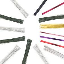 Culpitt 50pk Coloured Florist Wire for Floral Gumpaste Sugar Flowers Sugarcraft