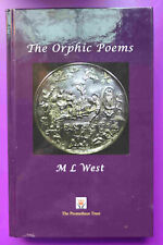 The Orphic Poems by M L West (2016, Hardcover)