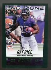 2014 Score Hot Rookies Green End Zone RAY RICE #2/6 Ravens