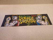 Double Dragon Orignal Arcade Marquee
