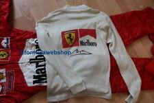 Tee shirt Nomex Michael Schumacher Scuderia Ferrari F1 / Race used long sleeves