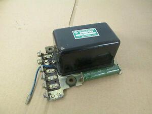 nos yamaha ya6 voltage regulator