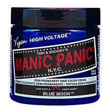 Manic Panic Classic Hair Dye Color Blue Moon Vegan 118ml Manic-Panic
