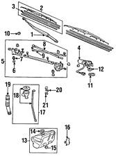 Genuine Honda Wiper Blade Refill 76622-SF4-305
